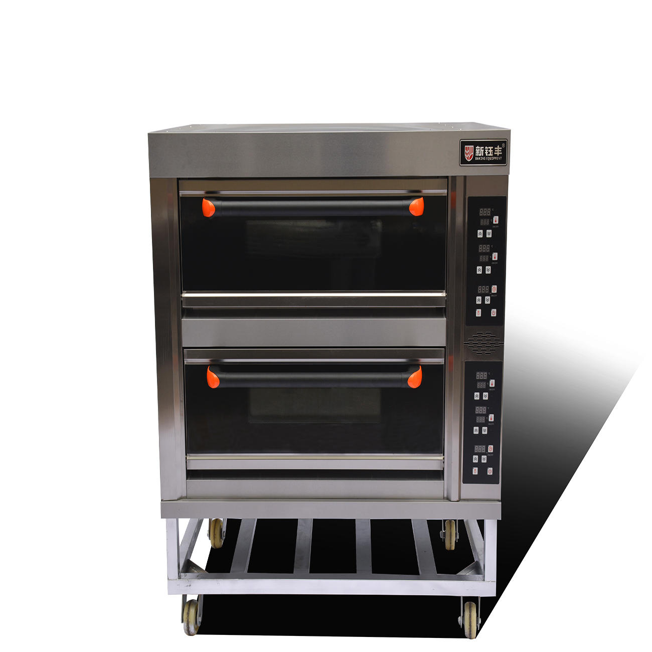 electric high temperature oven 2 deck 4 trays bread electric baking oven