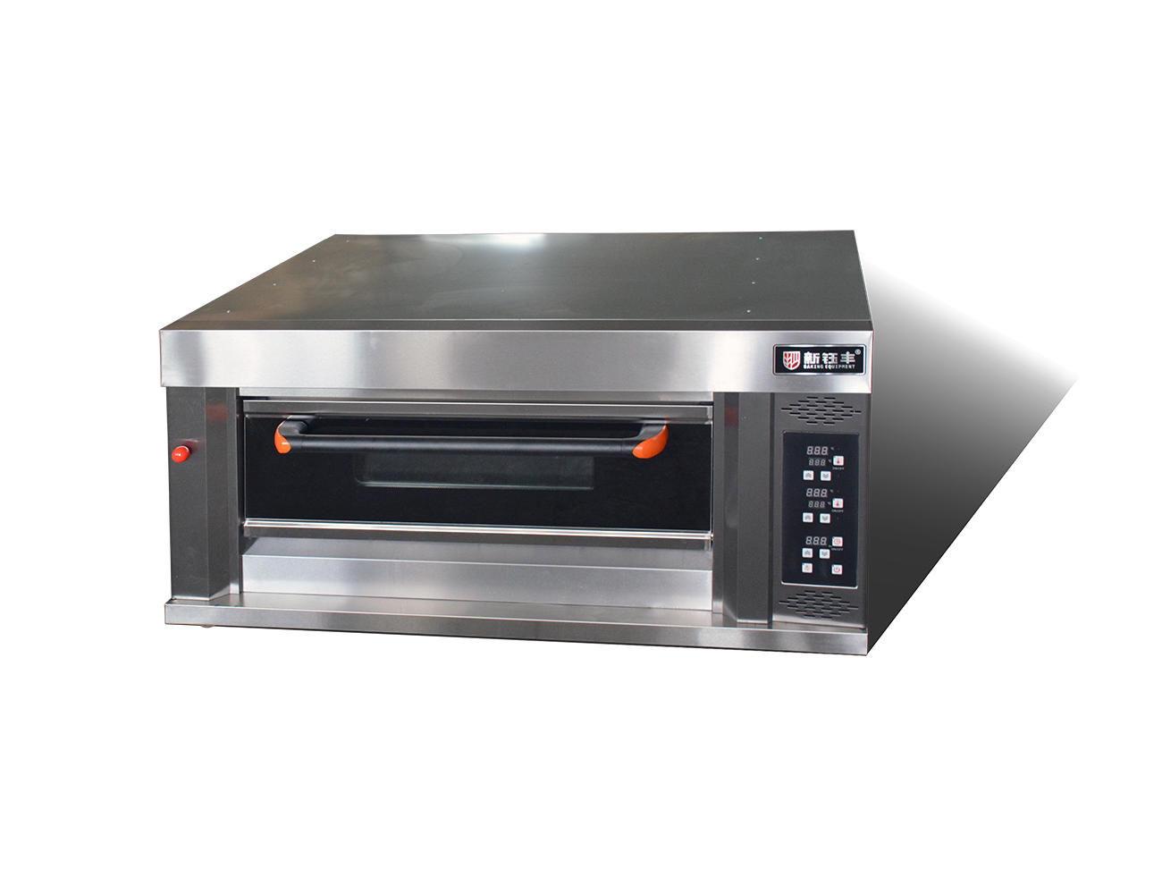 electric high temperature oven 1 deck 2 trays bread electric baking oven