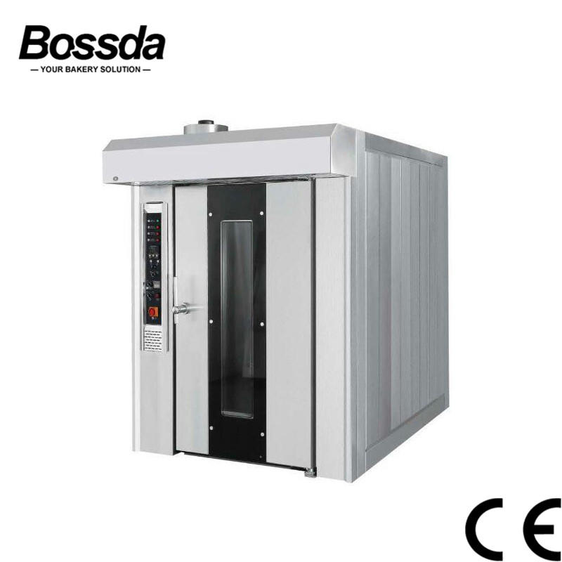2019 32trays Rotary Rack Electrical Rotary Oven Electric